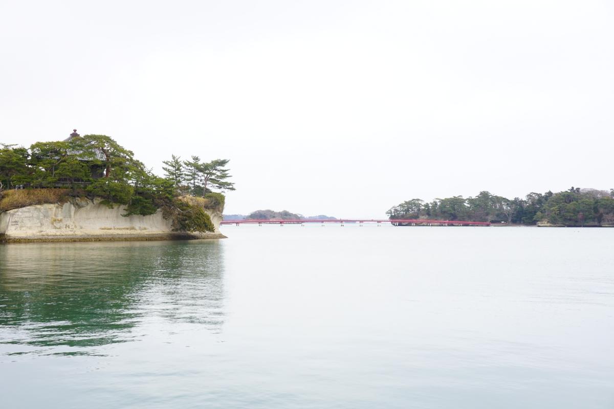 Fukuura Bridge over Matsushima Bay