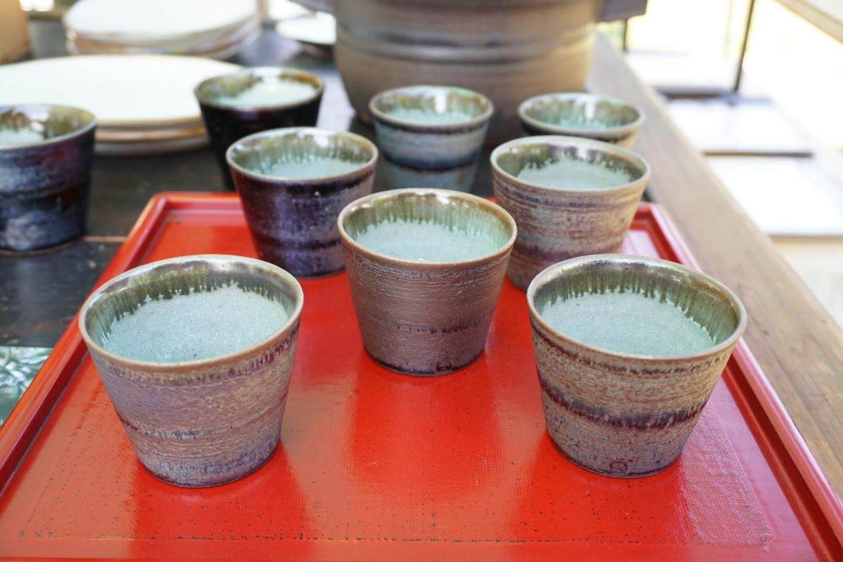 Tea cups by Hideki Yamashita