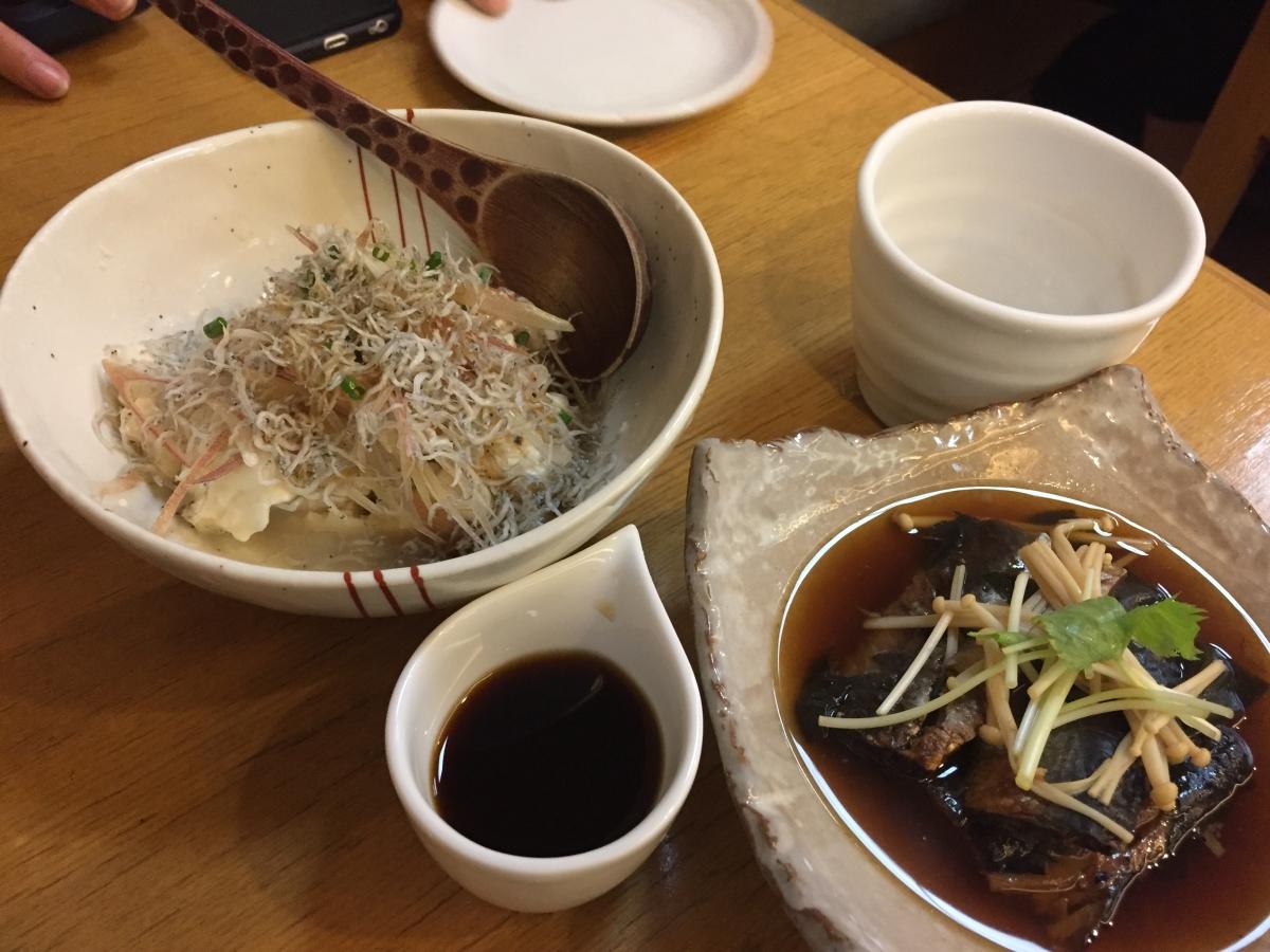 tofu and nishin