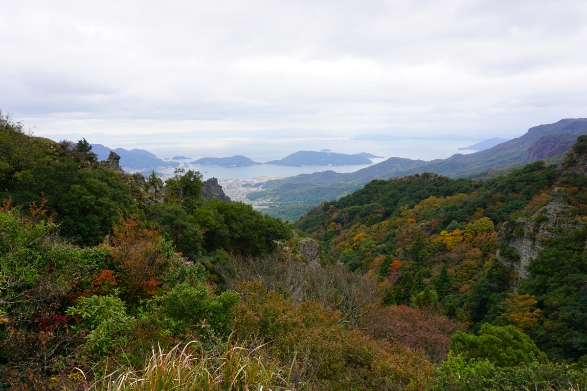 Shihouzashi panorama on shodoshima