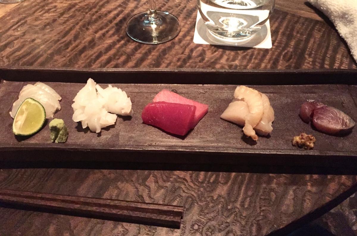 sashimi course