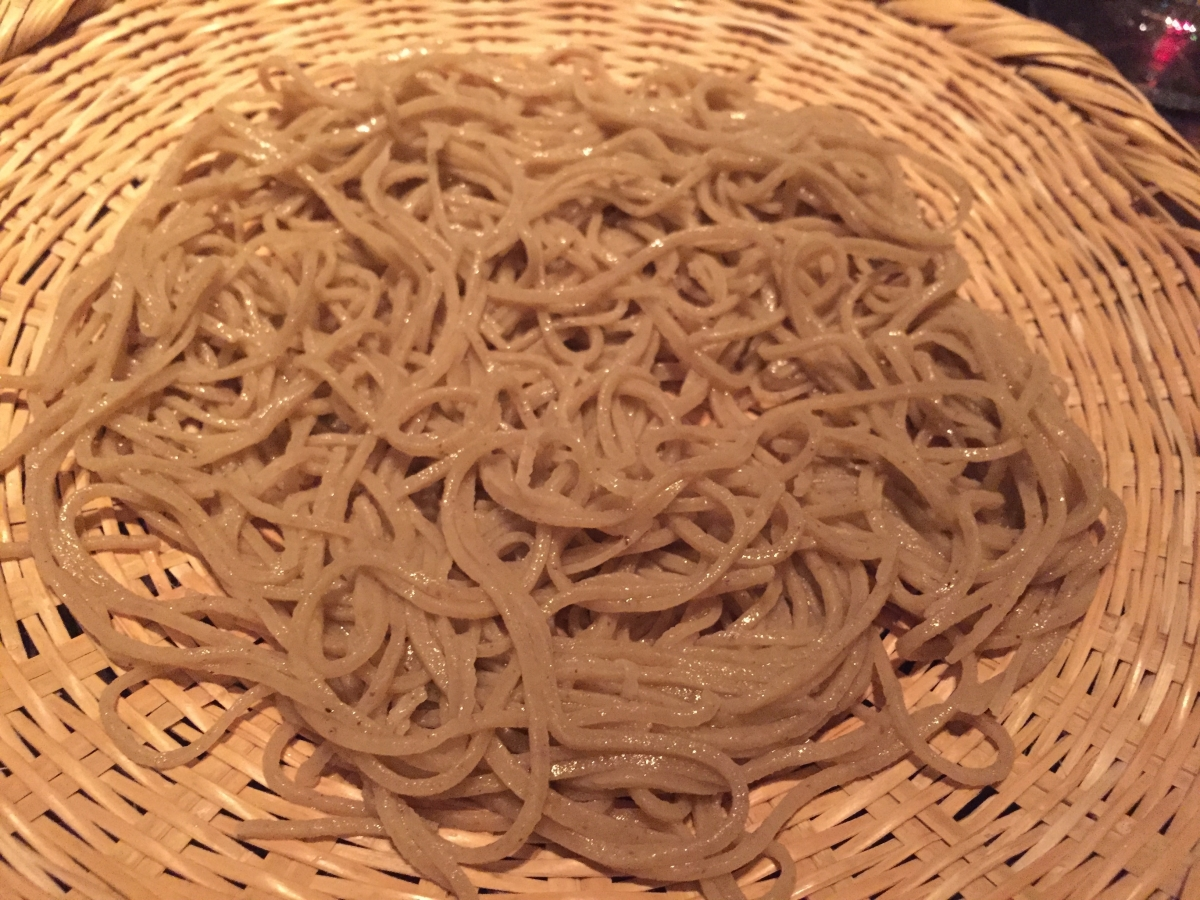 basket of soba