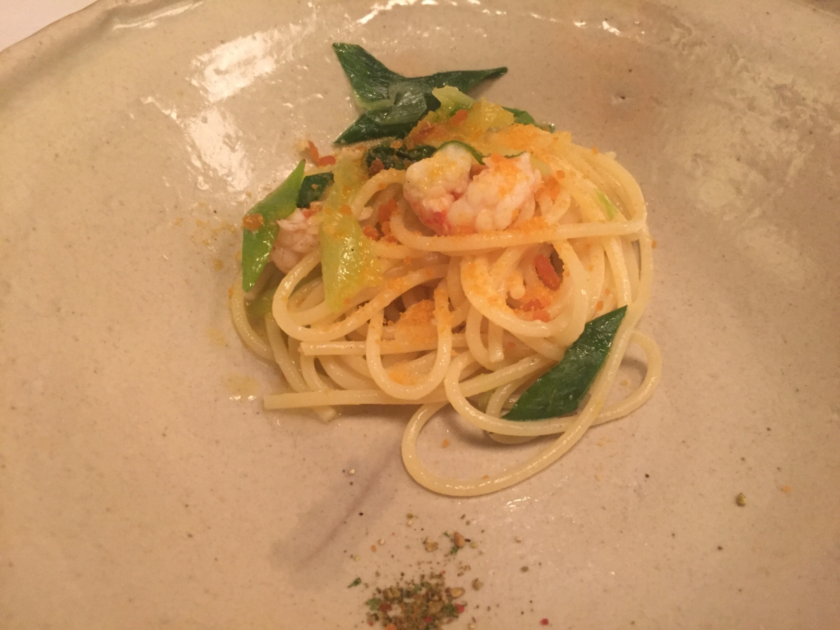 karasumi spaghetti