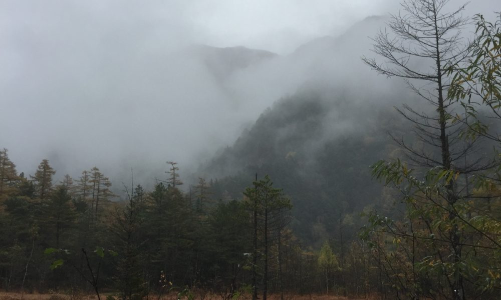 misty kamikochi