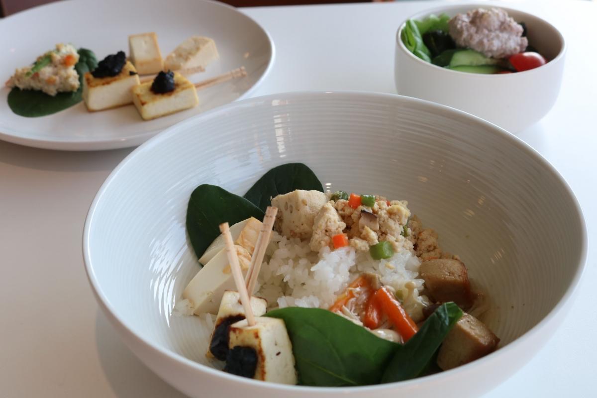 tofu main course
