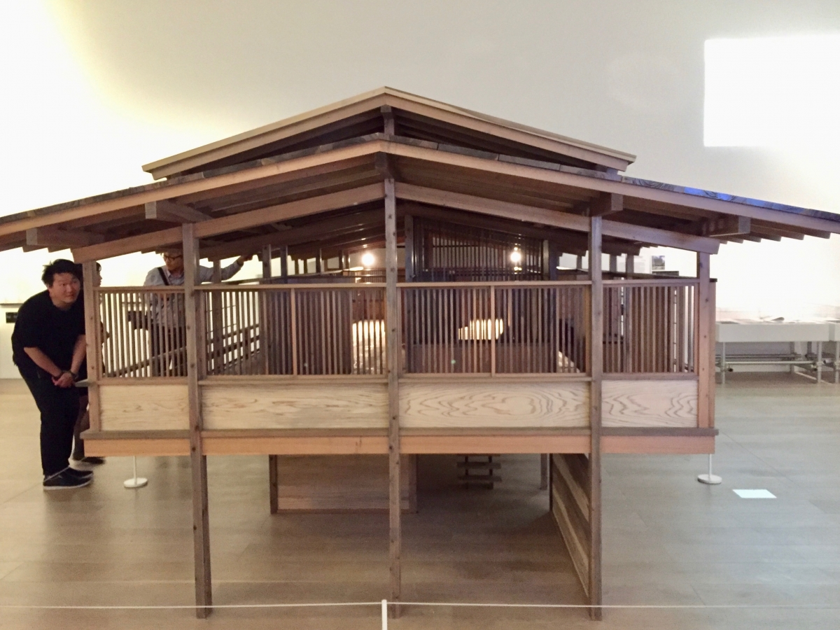 Japanese architecture by Tange