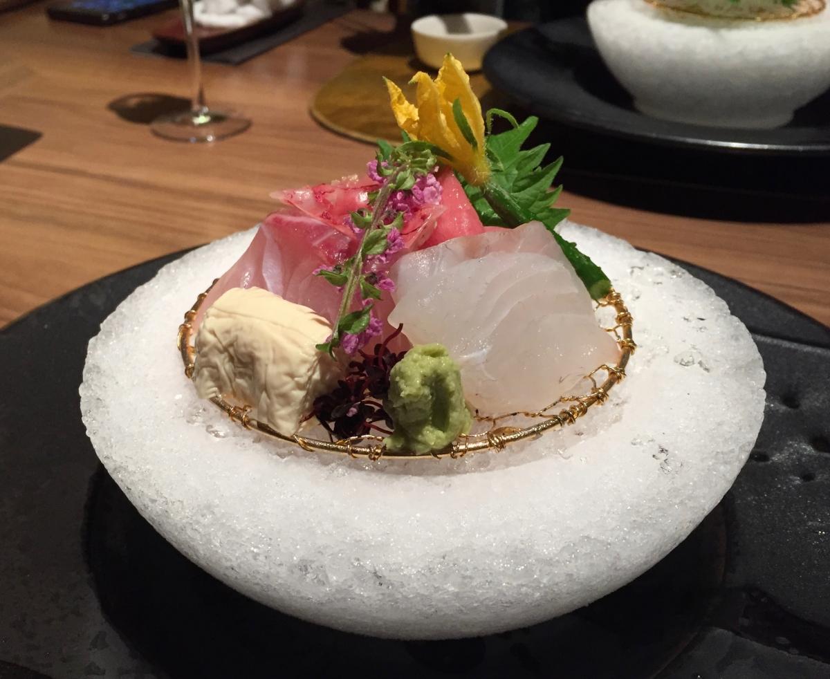 sashimi at kinugawa kanaya