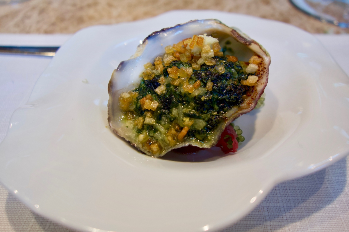 Jean-Georges oysters