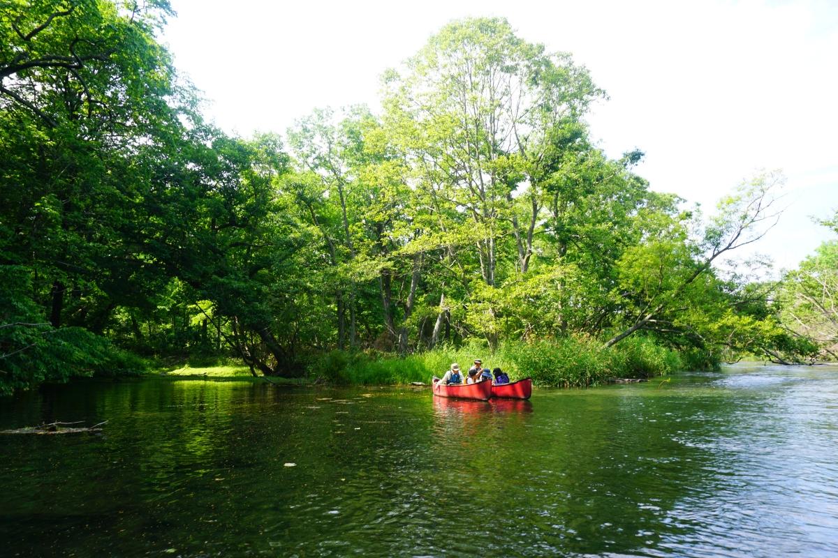 Kushiro canoeing