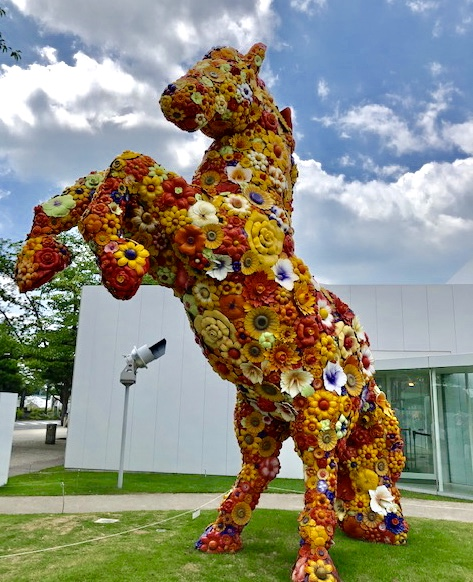 Towada Art Center horse