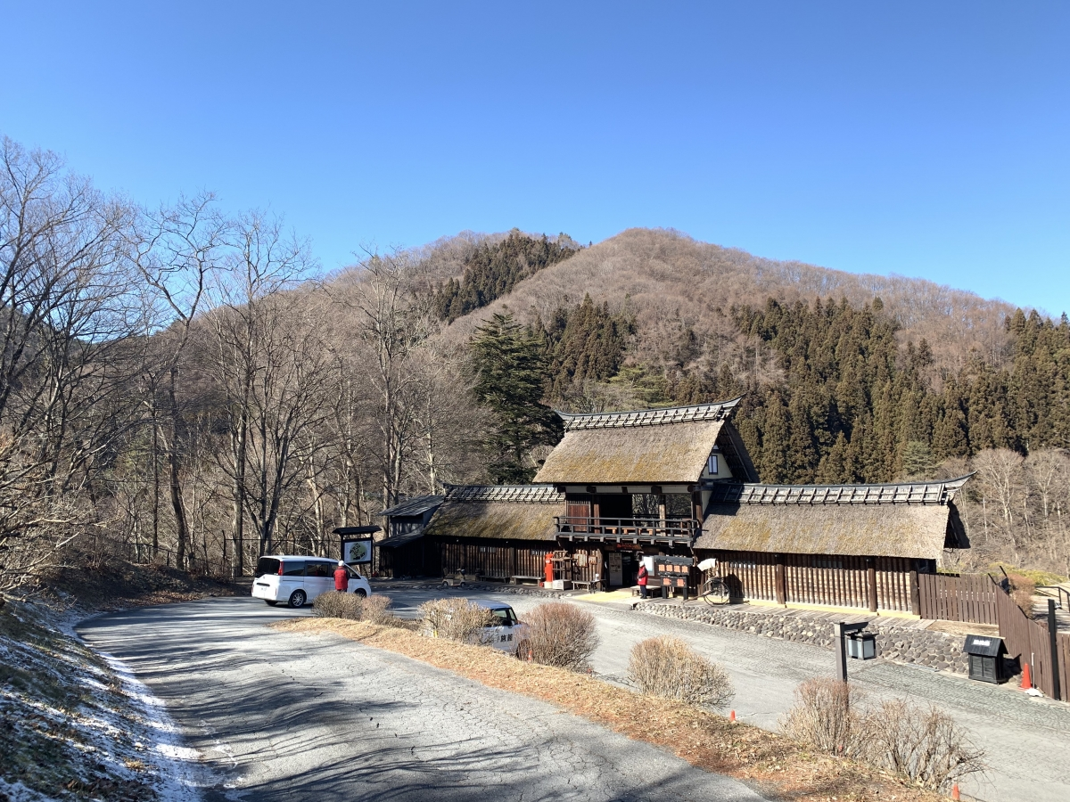 The approach to Hatago in Yakushi Onsen